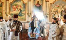 Високопреосвященніший Митрополит Климент звершив Божественну літургію в Миколаївському Крупицькому жіночому монастирі