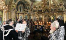 Відбулися соборна літургія та спільне говіння духовенства Бобровицького благочиння