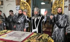 Відбулися соборна літургія та спільне говіння духовенства Носівського благочиння