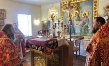 У середу Світлої седмиці Високопреосвященніший Митрополит Климент відвідав Пустинно-Рихлівський монастир