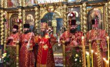 У Світлий Понеділок Високопреосвященніший Митрополит Климент звершив Божественну літургію в м. Прилуки