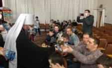 У день Пасхи Христової Високопреосвященніший Митрополит Климент відвідав Ніжинський дитячий будинок-інтернат