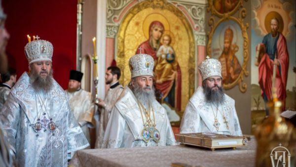Голова Учбового комітету взяв участь у всенічному бдінні з нагоди свята на честь Києво-Братської ікони Богородиці