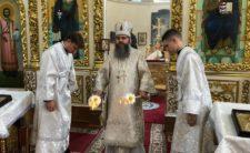 У Троїцьку батьківську суботу Митрополит Климент помолився за упокоєння душ усіх спочилих православних християн
