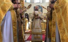 У Неділю 7-му після Пасхи Високопреосвященніший Митрополит Климент звершив Божественну літургію в Миколаївському кафедральному соборі м. Ніжина