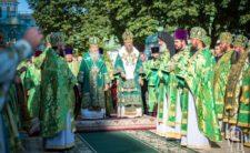 Високопреосвященніший Митрополит Климент взяв участь у святкових богослужіннях з нагоди дня пам'яті преподобного Антонія Печерського (відео)