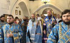 Високопреосвященніший Митрополит Климент очолив молебень перед шанованою іконою Божої Матері, іменованої «Любецька»