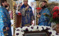 Преосвященніший Єпископ Феодосій освятив новий престол у с. Сулак
