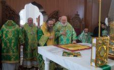 Високопреосвященніший Митрополит Климент взяв участь у богослужінні в Городницькому ставропігійному чоловічому монастирі