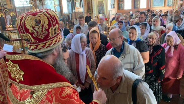 Високопреосвященніший Митрополит Климент звершив Божественну літургію в м. Прилуки