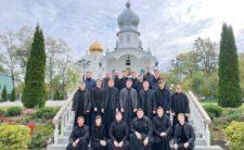 Завершилась паломницька поїздка Митрополита Климента і студентів І курсу КДА до святинь Закарпаття (відео)