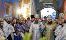 Голова Учбового комітету при Священному Синоді очолив всенічне бдіння напередодні престольного свята Академічного храму Київських духовних шкіл