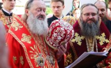 У день спомину чуда Архістратига Михаїла Митрополит Климент служив Божественну літургію у Звіринецькому монастирі м. Києва
