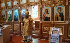 Високопреосвященніший Митрополит Климент освятив храм у с. Дащенки Варвинського району