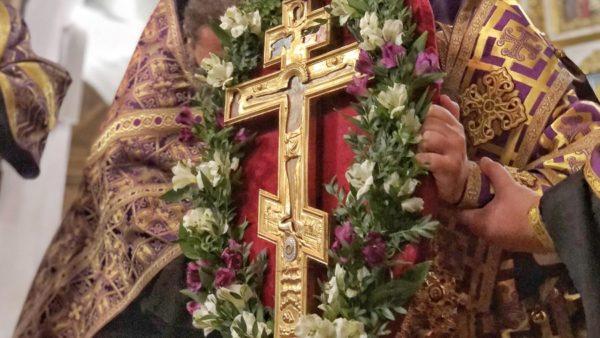 Напередодні Воздвиження Хреста Господнього Високопреосвященніший Митрополит Климент очолив всенічне бдіння в Миколаївському кафедральному соборі м. Ніжина