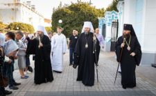 Високопреосвященніший Митрополит Климент вклонився святиням Сумщини