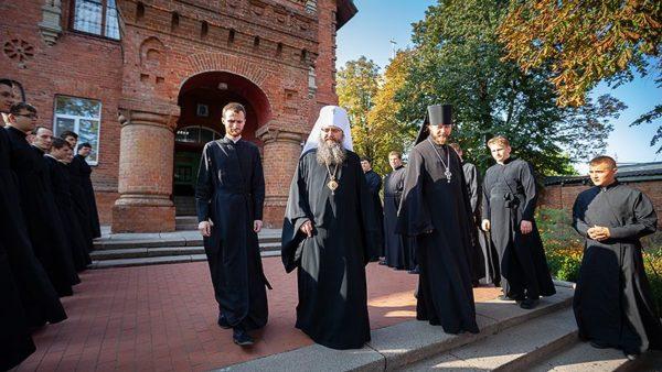 Голова Учбового комітету відвідав Сумську духовну семінарію