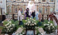 У день свята Вознесіння Господнього Митрополит Климент звершив Божественну літургію у Вознесенському храмі м. Ніжина
