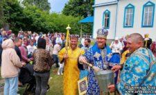 У день вшанування Ржавської ікони Божої Матері Преосвященніший Єпископ Феодосій звершив Божественну літургію в селі Кобижча